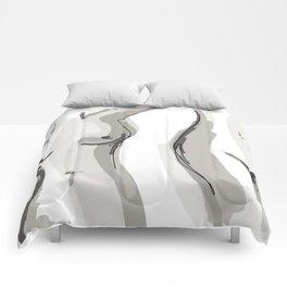 Nude Belly Comforters