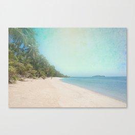 Coco Verde Canvas Print