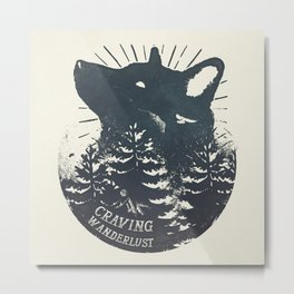Craving wanderlust Metal Print