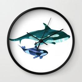 A swim together Wall Clock
