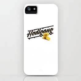 Hodlgang iPhone Case