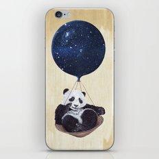 Panda in space iPhone & iPod Skin