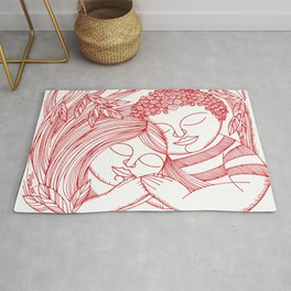 LOVE TWO Rug