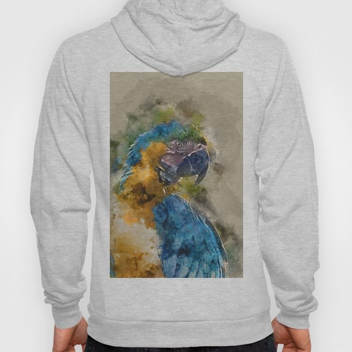 Parrot Colours Hoody