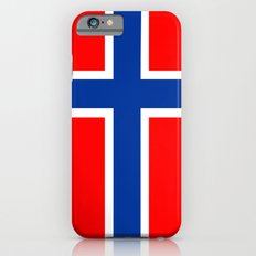 Norway country flag iPhone 6s Slim Case