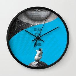 Wish you were here (Rocking Love series) Wall Clock