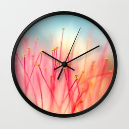 Hot Pink Wall Clock