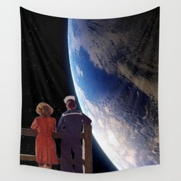 Alone Together Wall Tapestry