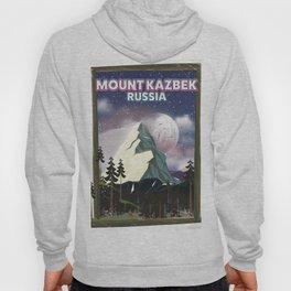 Mount Kazbek Russia. Hoody