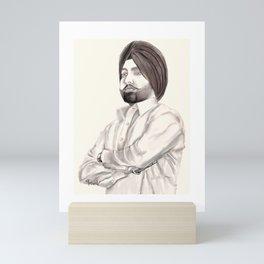Ammy Virk Mini Art Print