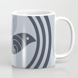 bird and circles Coffee Mug