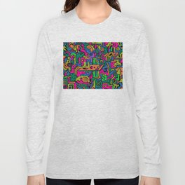 multidimensional maze Long Sleeve T-shirt