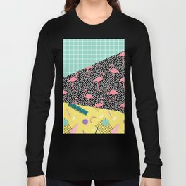 Dreaming 80s #society6 #decor #buyart Long Sleeve T-shirt
