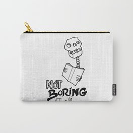 Not boring at all Carry-All Pouch
