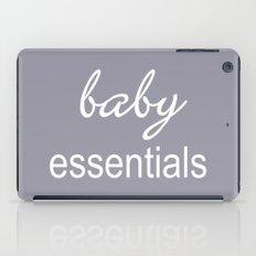 Baby Essentials Pantone 2016-Lilac Gray iPad Case