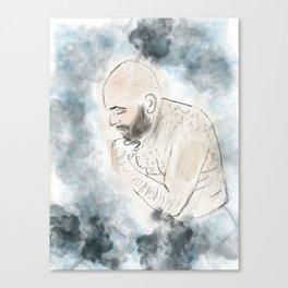 The Shameless Man Canvas Print