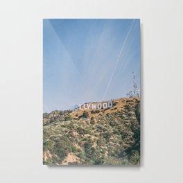 Hollywood Sign Los Angeles Metal Print