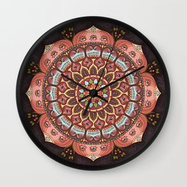 A Cosmic Flowering Wall Clock