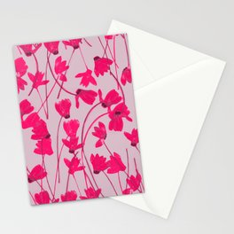 Flowering Cyclamen #1 Stationery Cards