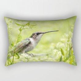 Hummingbird XIV Rectangular Pillow