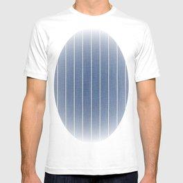Denim Blue with White Pinstripes T-shirt