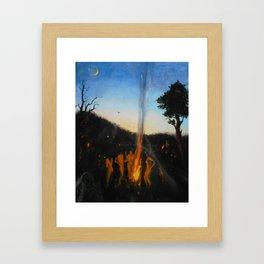 Summer Sabbath Framed Art Print