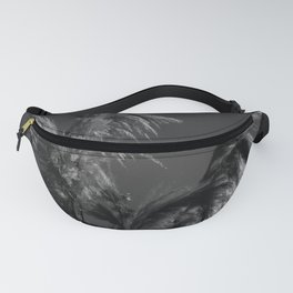 black and white country pond plants Fanny Pack