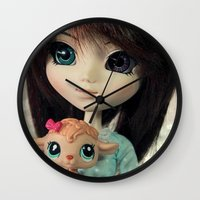 lamb Wall Clocks featuring Lamb by ♥  Little Enchanted World ♥