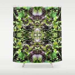 Mustard Greens & Sorrel Garden Shower Curtain