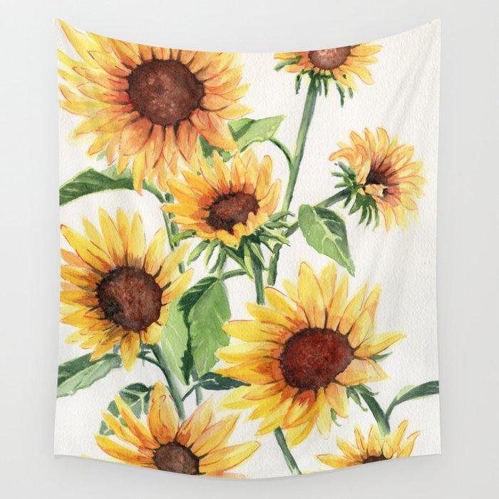 Sunflowers Wandbehang