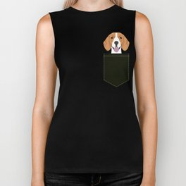 Darby - Beagle gifts for pet owners and dog person with a beagle Biker Tank