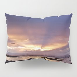 Beams of Light across the Sky Pillow Sham