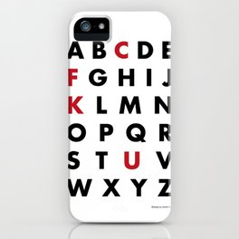 Learn your ABC iPhone Case