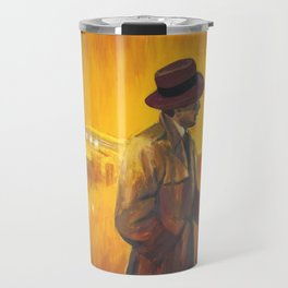 Casablanca film poster - The End Travel Mug