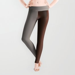 Ombre Brown Earth Tones Leggings