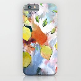 When Life Gives You Lemons, Paint Them iPhone Case