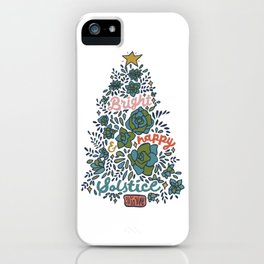 Bright and Happy Solstice iPhone Case