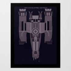 Weyland Industries: Nostromo Art Print
