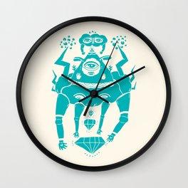 Triangle Head I Wall Clock
