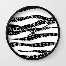 Hand Made Tentacle Wall Clock