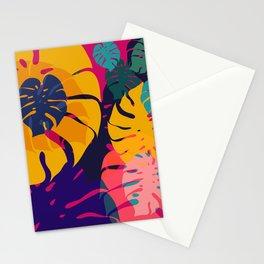 Aloha Floral Pop Art Pattern Stationery Cards