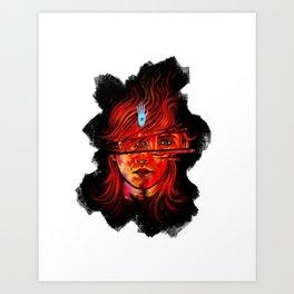 MudBlood Art Print