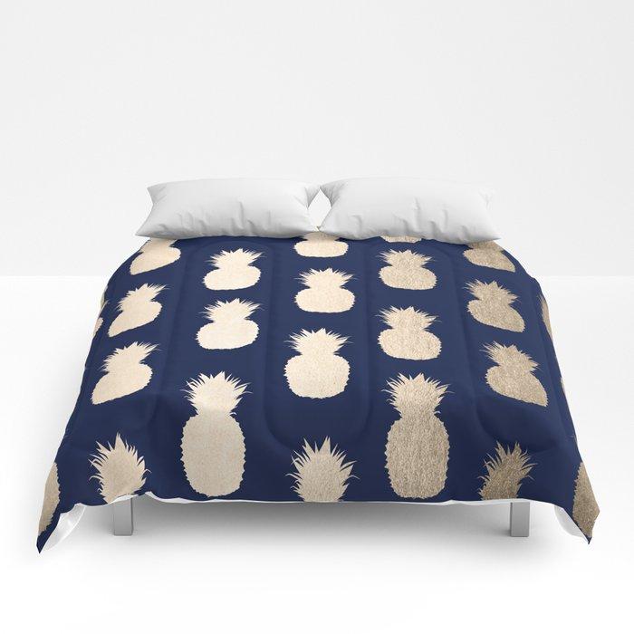 navy dark comforter comforters bedding set sets queen blue