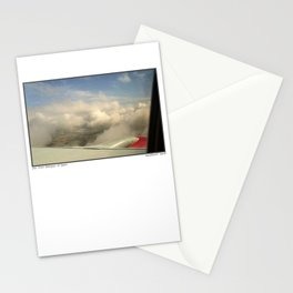 Just through the clouds Stationery Cards