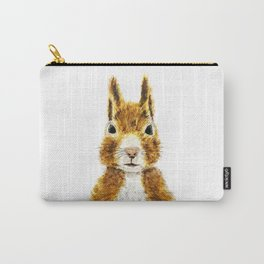 cute little squirrel watercolor Carry-All Pouch