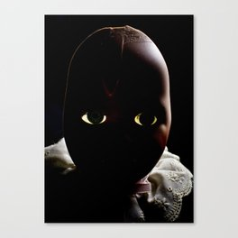 Dolly in the Attic II Canvas Print