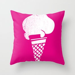 Gelati 1 Throw Pillow