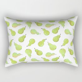 A Peck of Pears Rectangular Pillow