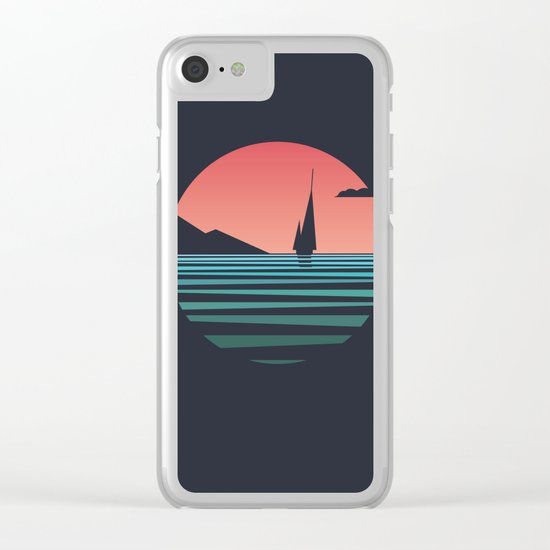 The Ocean /alternate/ Clear iPhone Case