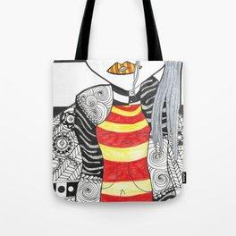 Geishas Temple Tote Bag